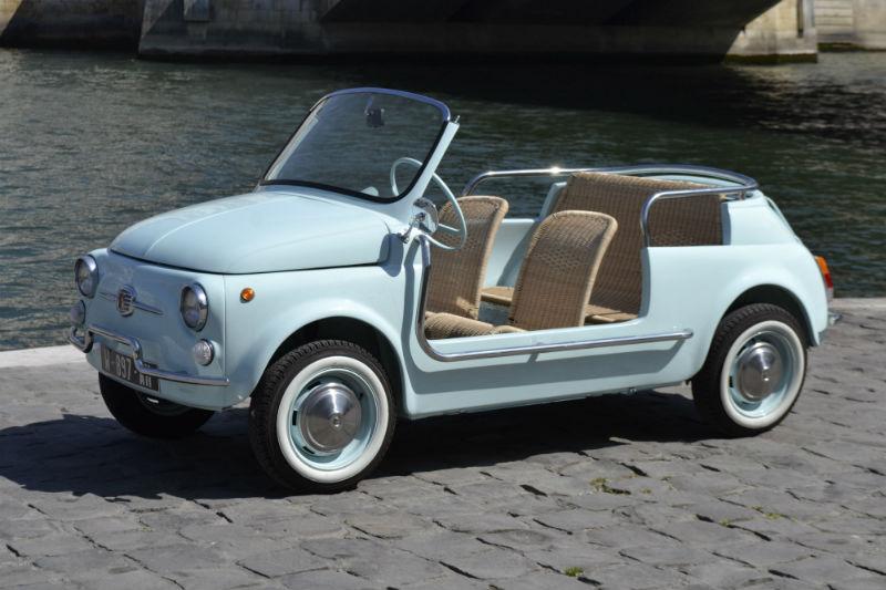 FIAT 500 de plage sur commande