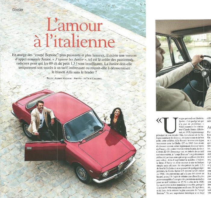 Reportage sur notre ALFA ROMEO Bertone