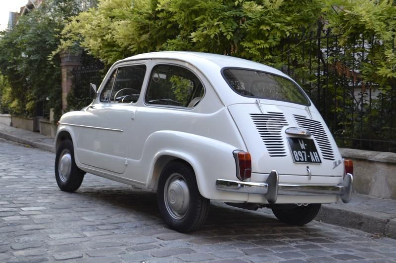 Fiat 600D ancienne