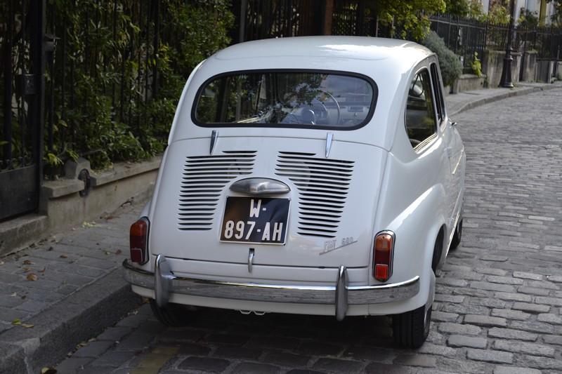 FIAT 600 D ancienne
