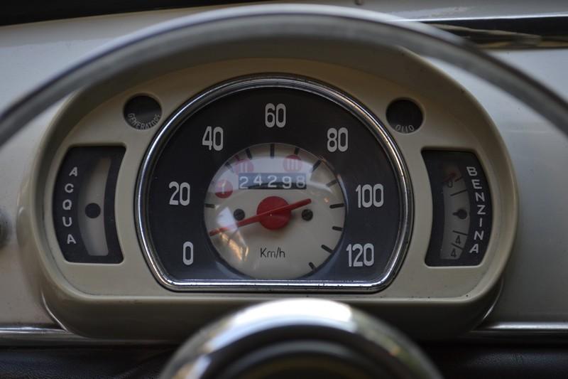 compteur FIAT 600 vintage