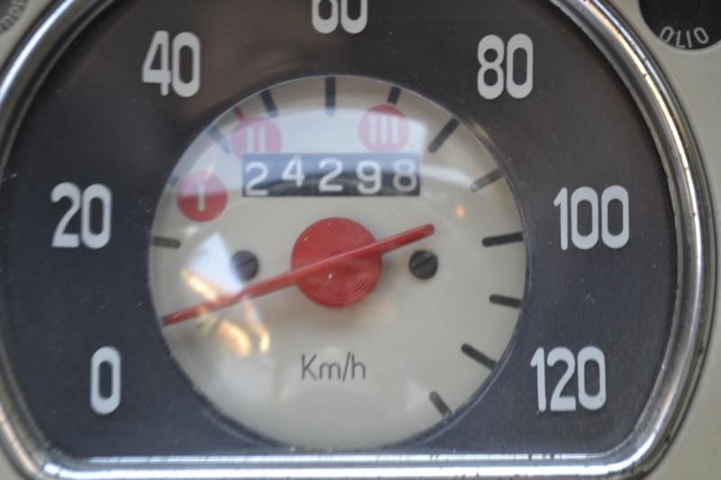 compteur FIAT 600 D vintage