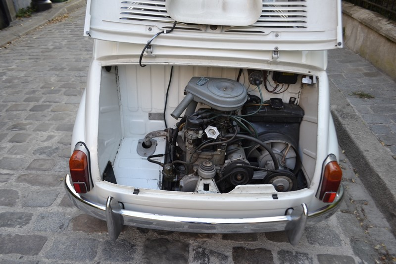 fiat 600 moteur restauré
