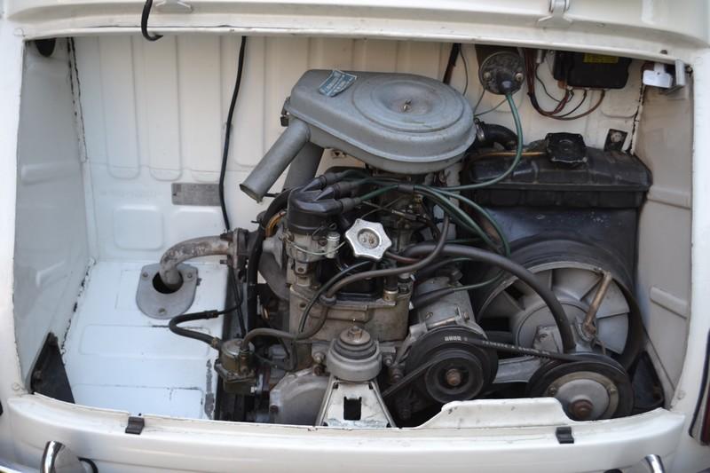 fiat 600 vintage moteur