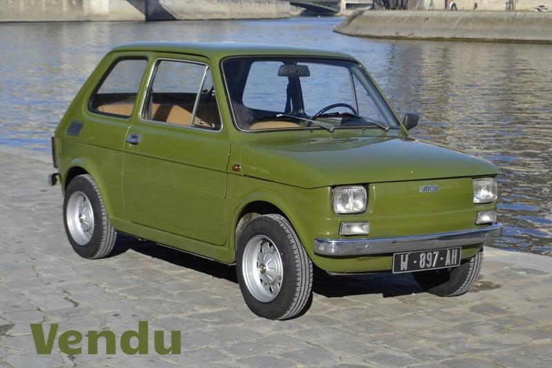 Fiat 126 ancienne 1974