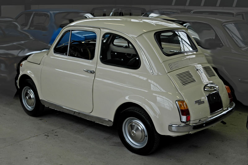 Collection FIAT 500 rare