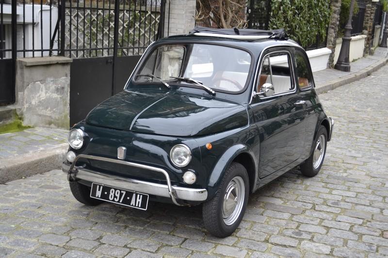 Fiat 500 L ancienne Paris
