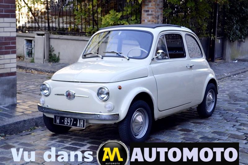 FIAT 500 F ivoire 1969