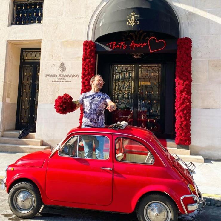 St Valentin Fiat 500 de Parfait Etat