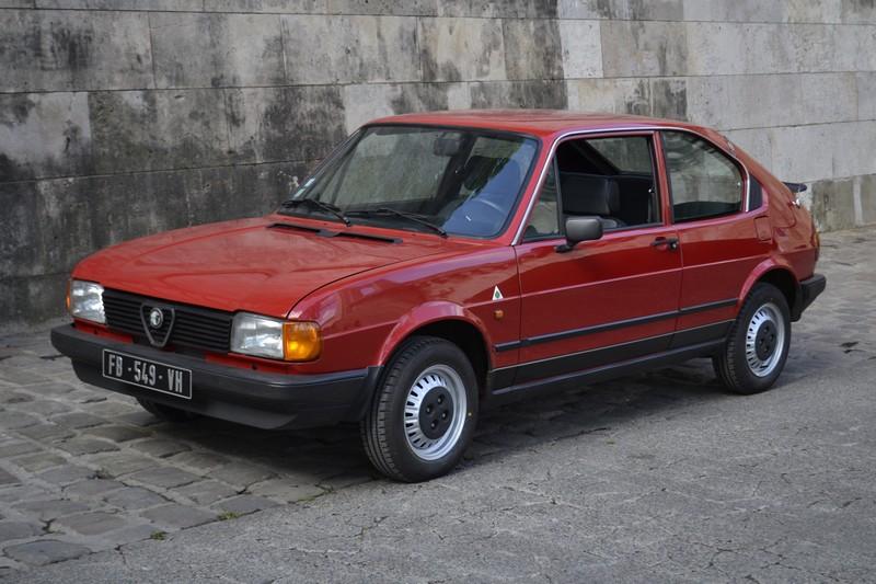 ALFA ROMEO Alfasud rouge 1983