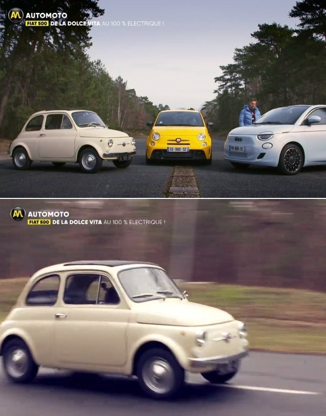 Automoto TF1 – Les Fiat 500, toute une histoire !