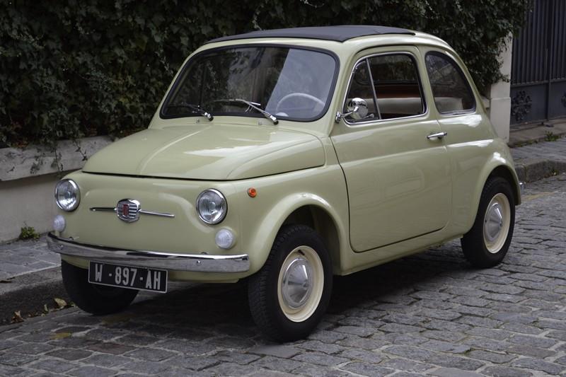 FIAT 500 R ancienne vintage