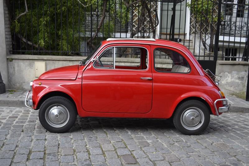 Fiat 500 vintage location