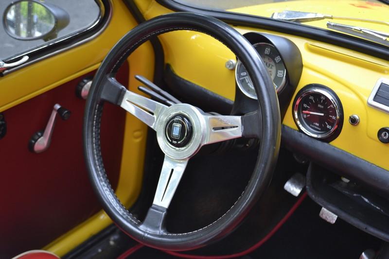 Fiat 500F vintage style Abarth