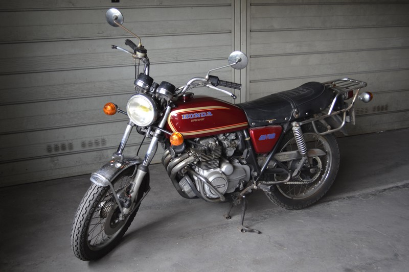 Moto HONDA 400 FOUR
