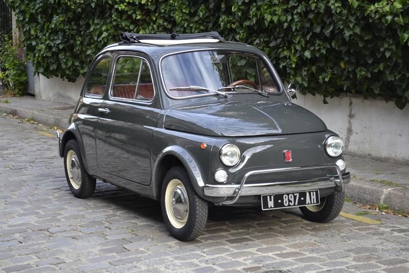 FIAT 500 L gris 1970